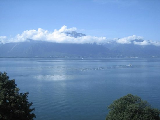 Hotel Royal Plaza Montreux : View from room pic 3