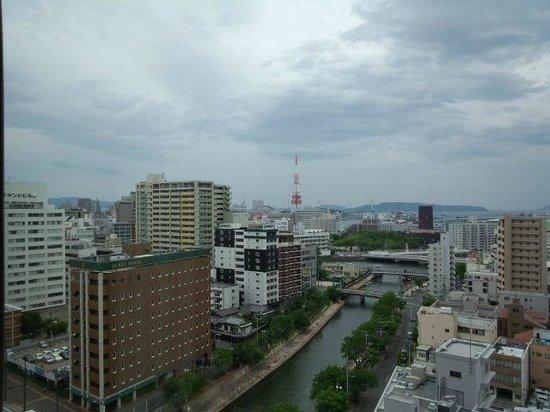 Hotel Okura Fukuoka : 部屋からの眺め