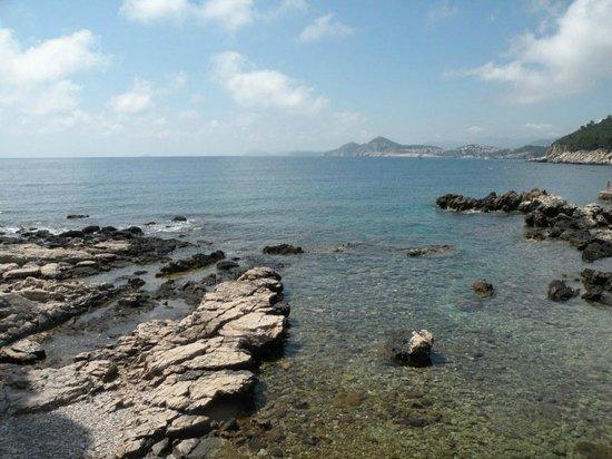 Island of Lokrum: Пляж на Локруме