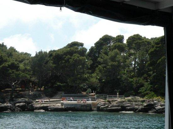 Island of Lokrum: Причаливаем