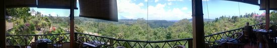 Pacung Indah Hotel & Restaurant: Panorama from Pacung Indah Restaurant