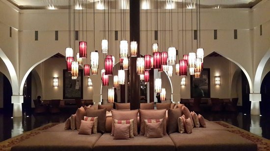 The Chedi Muscat – a GHM hotel: Tented lobby