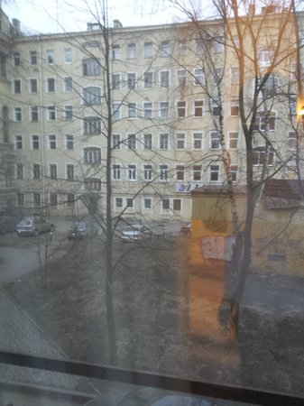 Marco Polo Saint-Petersburg: View from my room