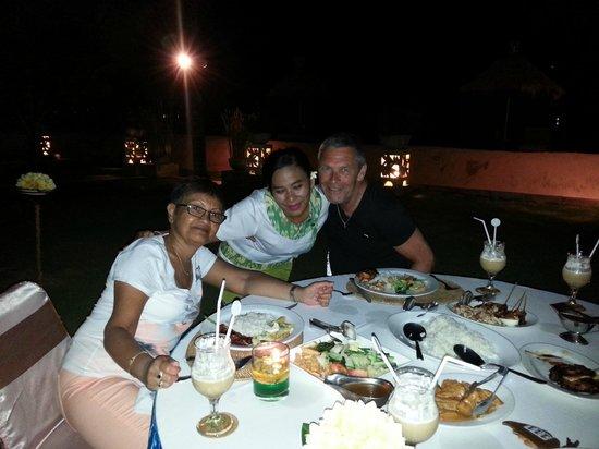 Kind Villa Bintang Resort & Spa: Ik en mijn vrouw Trix met Muliany
