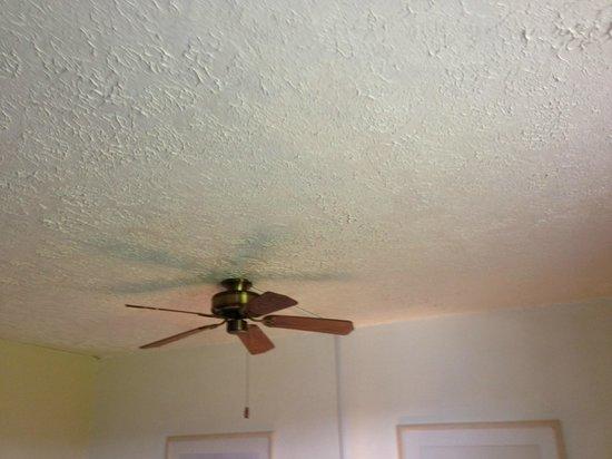Kona Seaside Hotel: Fan broken, from rust
