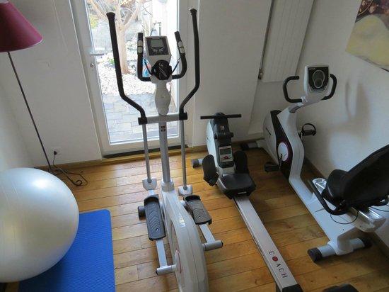 Les Chambres du Léman: Fitness-wellness