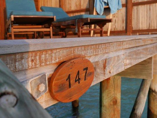 Veligandu Island Resort & Spa: Our room number.