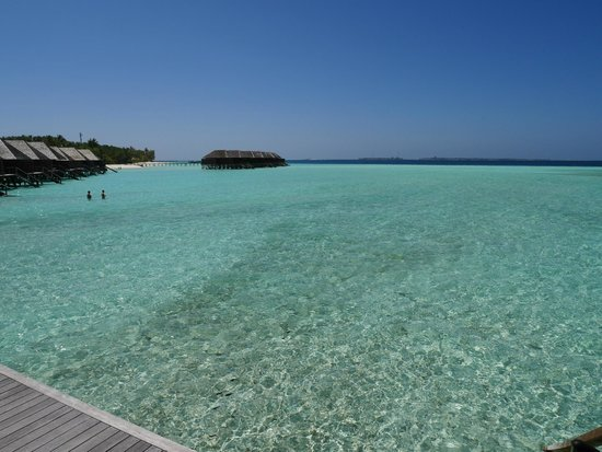 Veligandu Island Resort & Spa: View from our deck.
