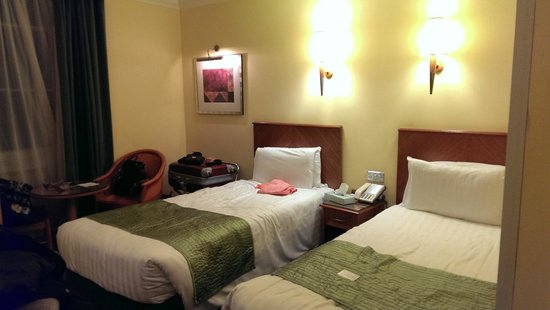 Lancaster Gate Hotel: chambre 2 lits