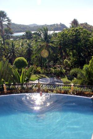 The Manor at Puerto Galera : живописный бассейн