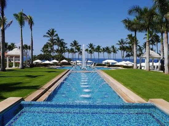Grand Wailea - A Waldorf Astoria Resort: 噴水