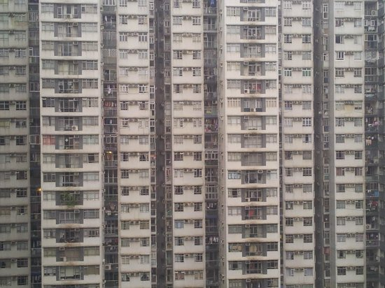 City Garden Hotel Hong Kong : View of a residential complex from floor 12