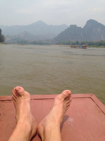 Nava Mekong: Chilling out on the Mekong River!