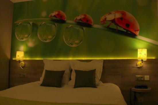 Inter-Hotel Le Garden Tours-Sud : Chambre communicante