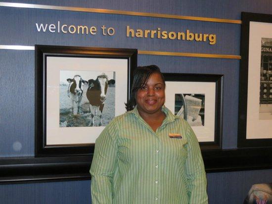 Hampton Inn Harrisonburg South : Tanya - she's the best!