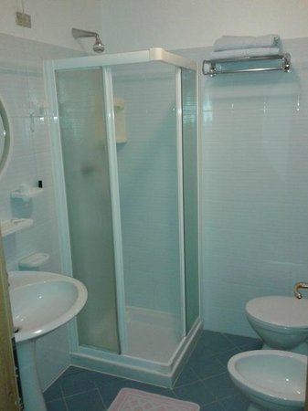Hotel Gardenia: Bathroom
