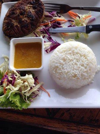 Kon-Tiki New Nordic Beach Restaurant & Bar: Баракуда 280 грам.