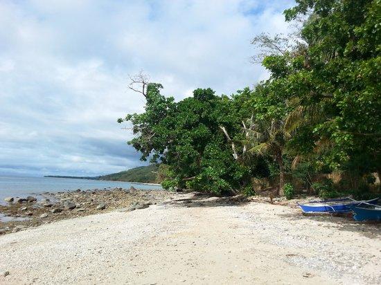 Jungle Beach Resort: The hidden private beach