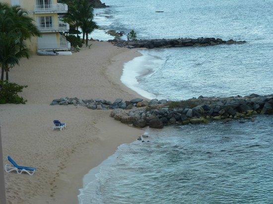 Le Beach Hôtel: Plage hôtel