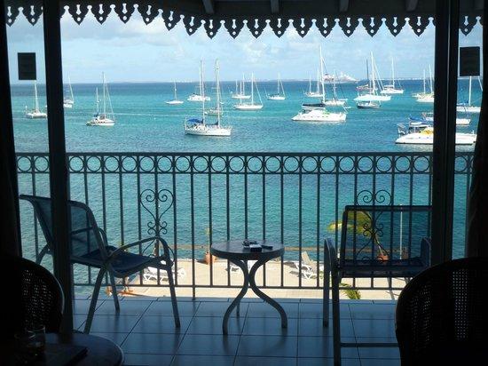 Le Beach Hôtel: Vue de la chambre