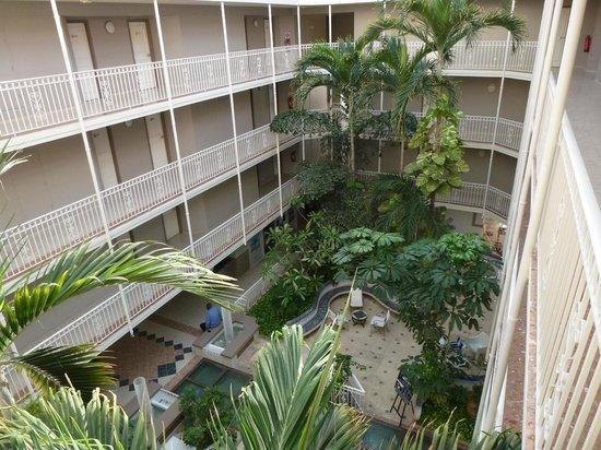 Le Beach Hôtel: Intérieur hôtel