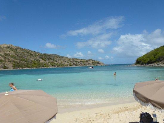 Le Beach Hôtel: Île Pinel