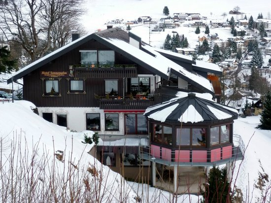 Hotel Sonnenalm : L'hôtel en hiver