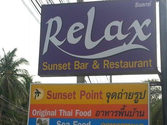 Relax @ Samui : Depuis la route
