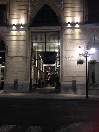Hospes Amerigo: the amerigo entrance. So pretty