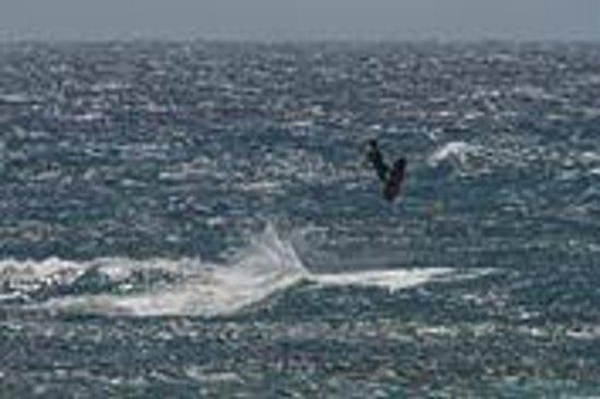 Sakalava Lodge: Spot de kitesurf