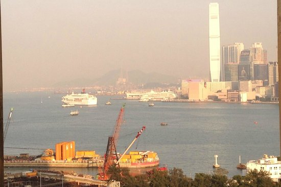 The Excelsior, Hong Kong: View Towards Kowloon