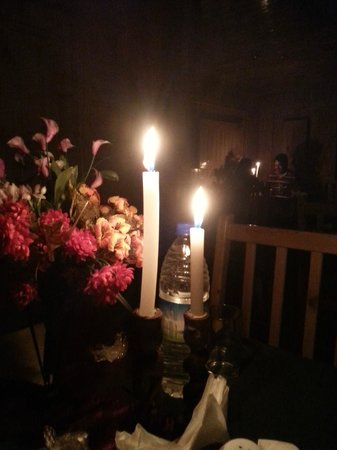 The Holiday Resorts Cottages & Spa: candle light dinner hall