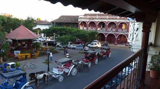 Hotel Plaza Colon: Blick vom Balkon 1