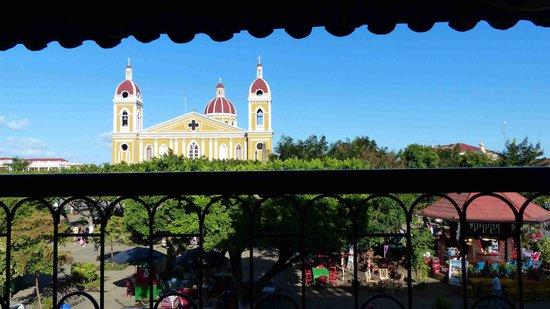 Hotel Plaza Colon: Blick vom Balkon 3