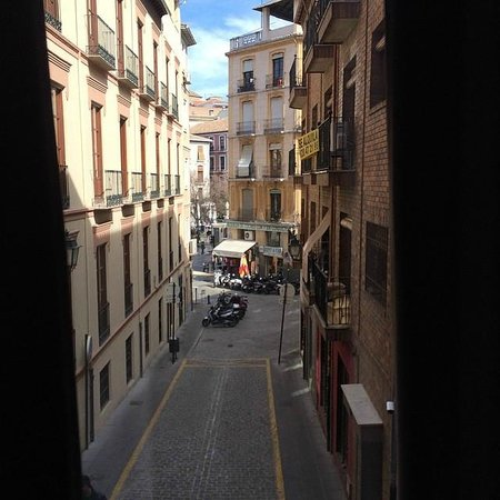 Hotel Monjas del Carmen: room with a view
