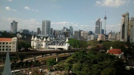 Ramada Plaza Dua Sentral Kuala Lumpur: View from 8th floor
