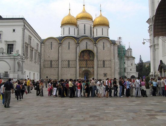 Moskauer Kreml: Успенский собор