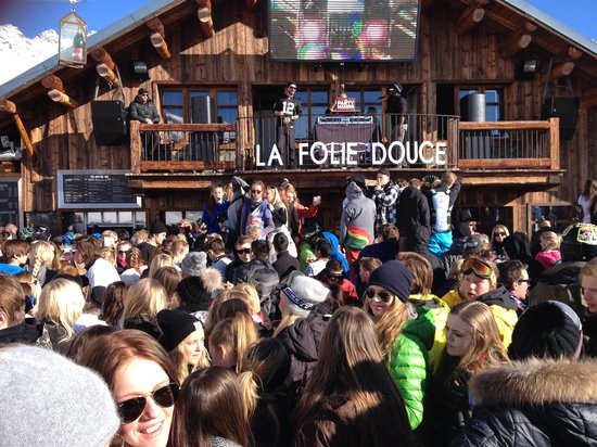 La Folie Douce Méribel-Courchevel : Тусовка