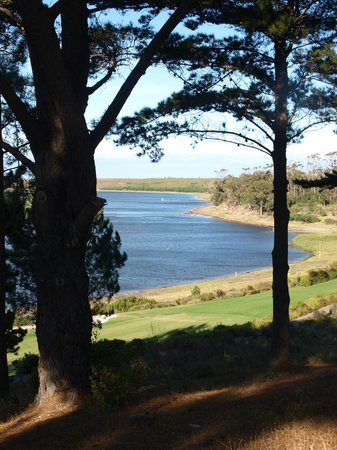 Arabella Golf Estate : ACE Blick auf die Lagune