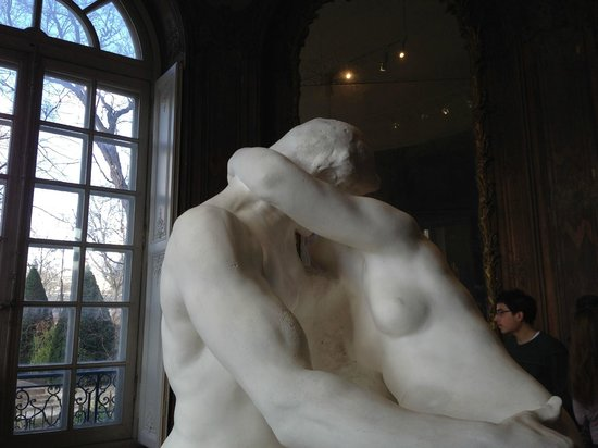 Musée Rodin : A French kiss