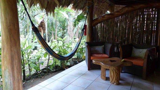 Cariblue Hotel: Hängematte auf unserer Terrasse