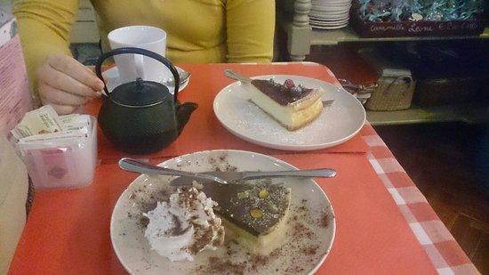 Sweet Irene: Chesscacke frutti di bosco e torta all'arancia e cioccolato