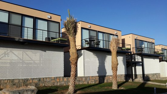 Newly built bungalows at The View