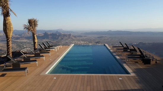The View: Swimming Pool with a View!