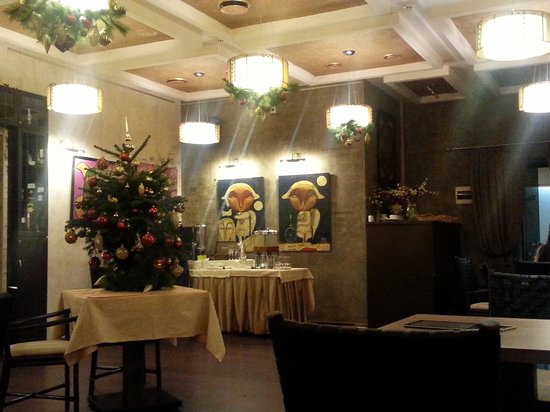 Nevsky Forum Hotel: the restaurant