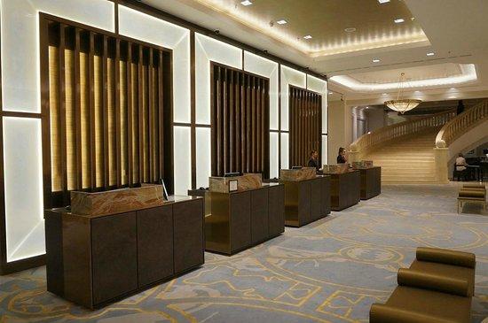 JW Marriott Bucharest Grand Hotel : Reception