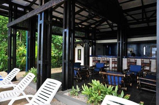TikiVillas Rainforest Lodge & Spa : Bar area