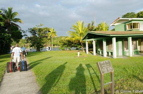 Pachira Lodge: The airstrip at Tortuguero