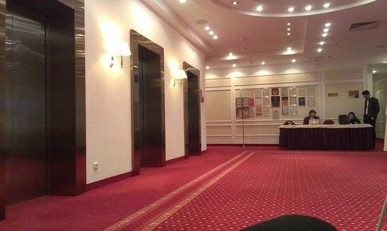 Borodino Hotel : Холл(вход в рабочую зону