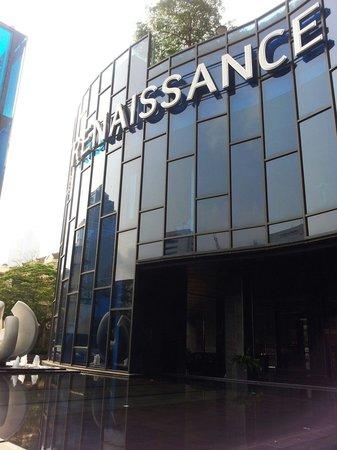 Renaissance Bangkok Ratchaprasong Hotel: エントランス